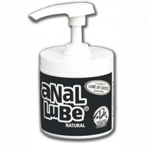 ANAL LUBE NATURAL 4.5 OZ