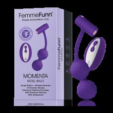 FEMMEFUNN-MOMENTA-VIBRATING KEGEL-MAUVE