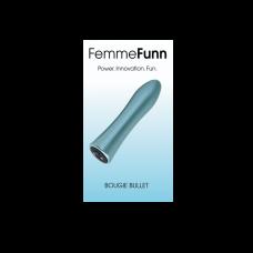 FEMMEFUNN-BOUGIE BULLET -BLEU CLAIR