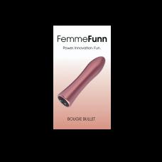 FEMMEFUNN-BOUGIE BULLET -ROSE