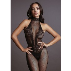 LE DÉSIR -  FISHNET AND LACE BODYSTOCKING