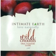 INTIMATE EARTH - WILD CHERRY LUBRIFIANT ORAL 3ML