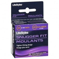 Condom Lifestyles Snugger Fit Box 3