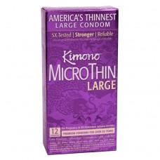 KIMONO MICROTHIN LARGE BOITE 12 UNITES