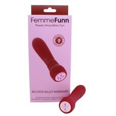 FEMMEFUNN-BOOSTER BULLET MASSAGER-ROUGE