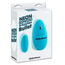 NEON LUV TOUCH 5 FUNCTION BULLET BLEU