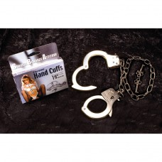 CHROME HAND CUFFS 19'' , NEW BOX